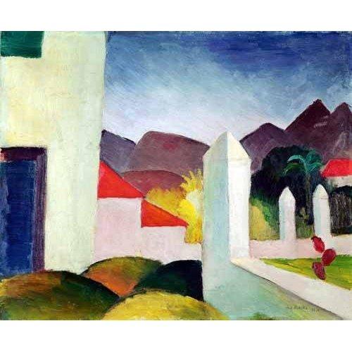 cuadros de paisajes - Cuadro -Paisaje de Tunez-