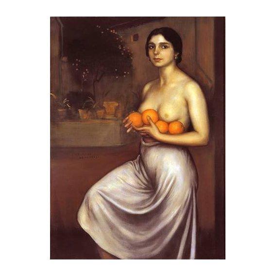 cuadros de retrato - Cuadro -Naranjas y Limones-