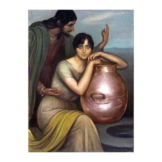 cuadros de retrato - Cuadro -Samaritana-