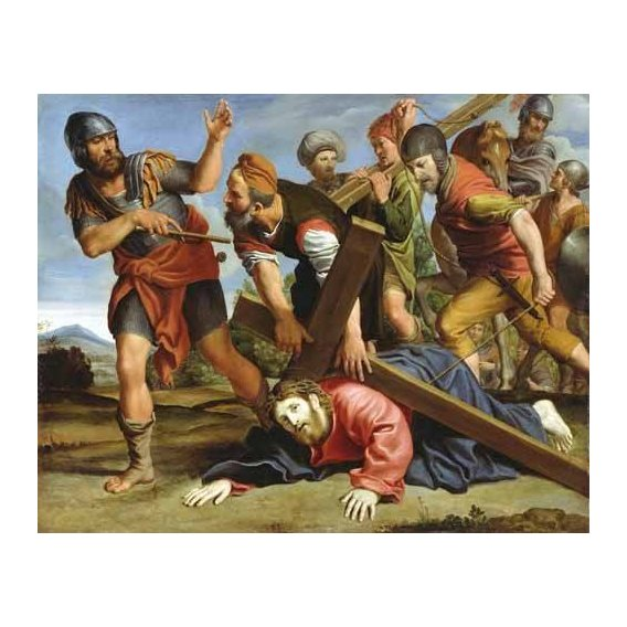 cuadros religiosos - Cuadro -El Camino al Calvario-