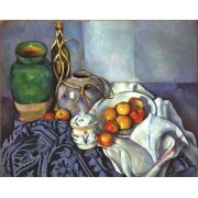 Cuadro -Bodegón con ollas y frutas, 1890-