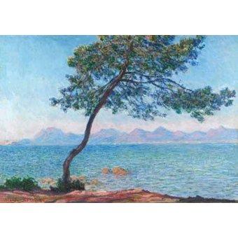 cuadros de marinas - Cuadro -Le montagne de l'Esterel, 1888- - Monet, Claude