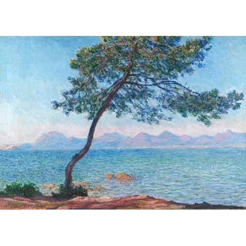cuadros de marinas - Cuadro -Le montagne de l'Esterel, 1888-