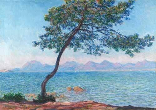 cuadros-de-marinas - Cuadro -Le montagne de l'Esterel, 1888- - Monet, Claude