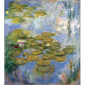 - Cuadro -Nenufares, 1916-19- - Monet, Claude
