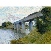 Cuadro -El Puente Ferroviario En Argenteuil, 1874-