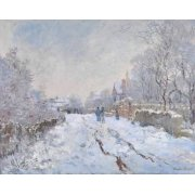 Cuadro -Argenteuil, nevado, 1875-