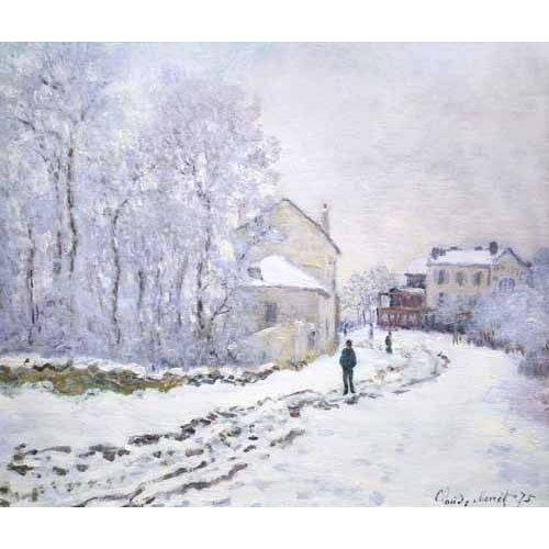 Cuadro -Nevada en Argenteuil, 1875-