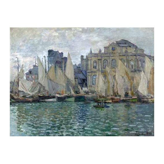 cuadros de marinas - Cuadro -Museo Naval En Le Havre-