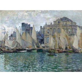 cuadros de marinas - Cuadro -Museo Naval En Le Havre- - Monet, Claude