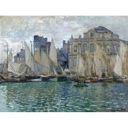 Cuadro -Museo Naval En Le Havre-