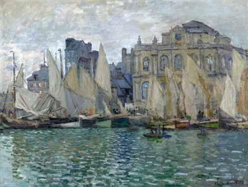 cuadros-de-marinas - Cuadro -Museo Naval En Le Havre- - Monet, Claude