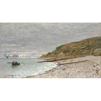 cuadros de marinas - Cuadro -Sainte-Adresse, La Pointe de la Hève, 1864- - Monet, Claude