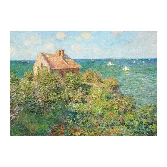 cuadros de marinas - Cuadro -Il capanno del pescatore, 1882-