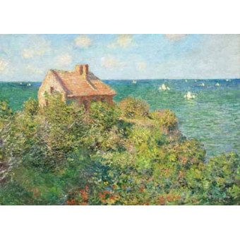 cuadros de marinas - Cuadro -Il capanno del pescatore, 1882- - Monet, Claude