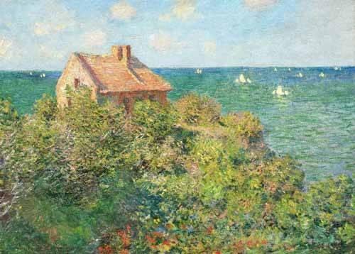 cuadros-de-marinas - Cuadro -Il capanno del pescatore, 1882- - Monet, Claude