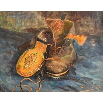 - Cuadro -A Pair of Boots- - Van Gogh, Vincent