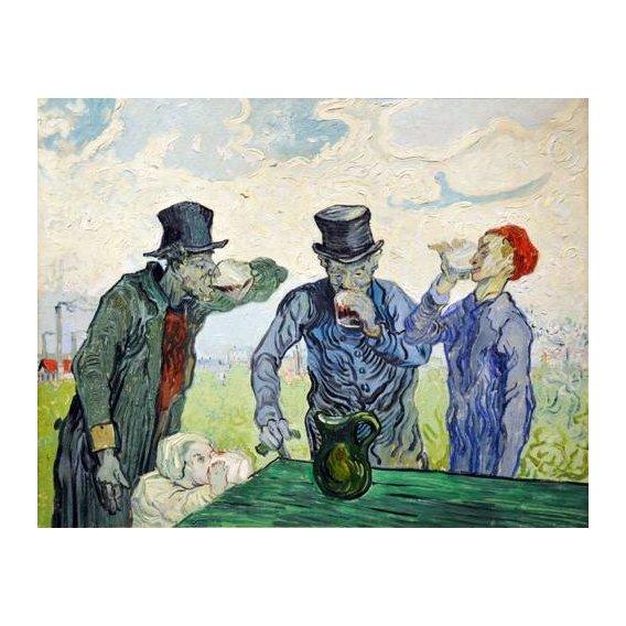 cuadros de retrato - Cuadro -The Drinkers, 1890-