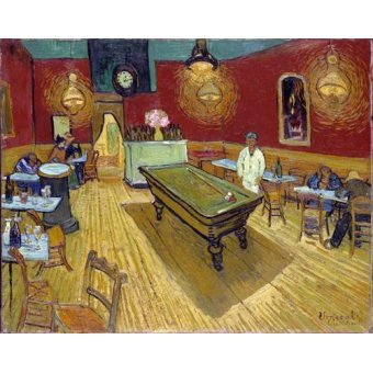 - Cuadro -The Night Cafe, 1888- - Van Gogh, Vincent