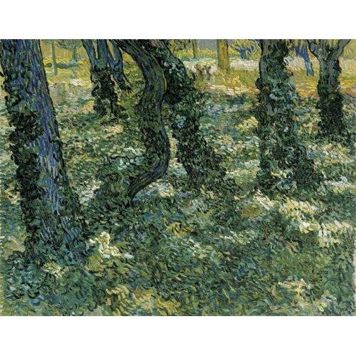 cuadros de paisajes - Cuadro -Undergrowth, 1889-