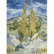 Cuadro -The Poplars at Saint-Remy, 1889-