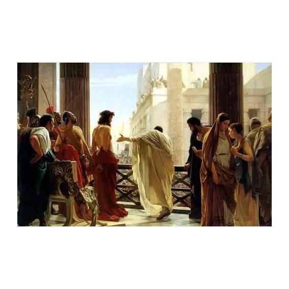 cuadros religiosos - Cuadro -Ecce Homo, 1880-