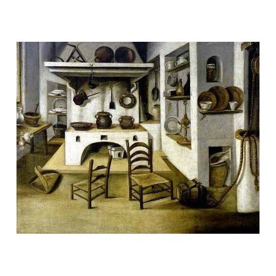 cuadros decorativos - Cuadro -La cocina-