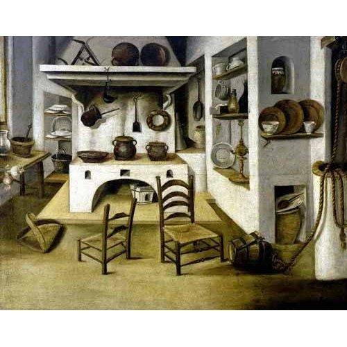 Cuadro -La cocina-