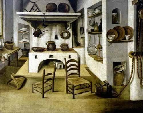 cuadros-decorativos - Cuadro -La cocina- - Puga, Antonio