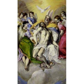 cuadros religiosos - Cuadro -Trinidad- - Greco, El (D. Theotocopoulos)