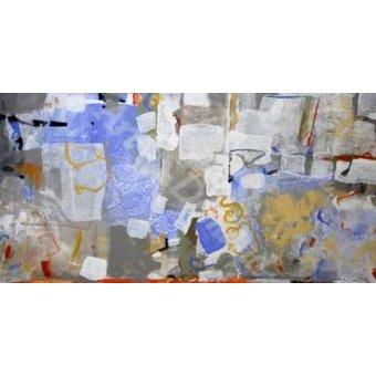 - Cuadro -Abstracto _ Mediterraneo- - Herron, Marisa