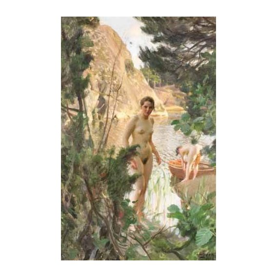 cuadros de desnudos - Cuadro -Jollen, 1918-