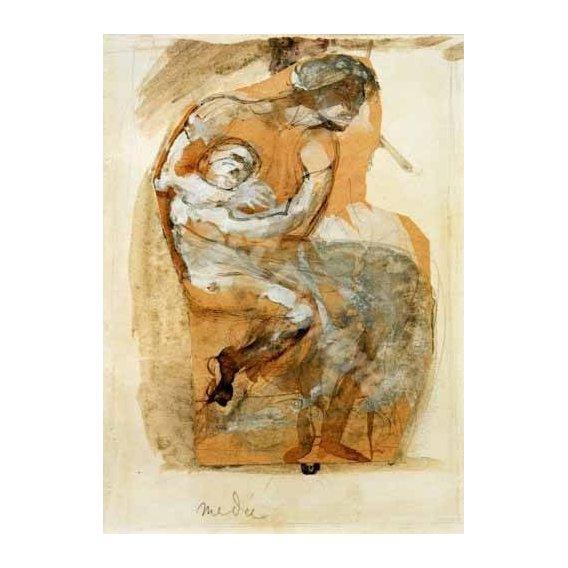 cuadros de retrato - Cuadro -Medea-