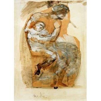 - Cuadro -Medea- - Rodin, Auguste