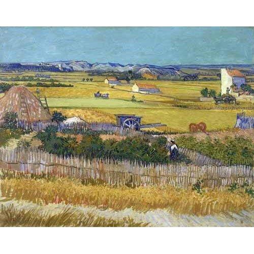 Cuadro -The harvest, 1888-