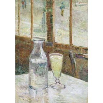 - Cuadro -Cafe table with absinth, 1887- - Van Gogh, Vincent