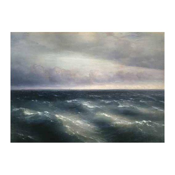 cuadros de marinas - Cuadro -The Black Sea, 1881-