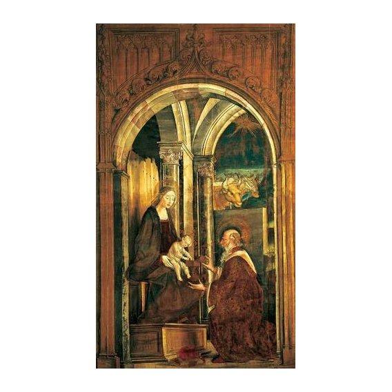 cuadros religiosos - Cuadro -La Adoración De Los Magos-