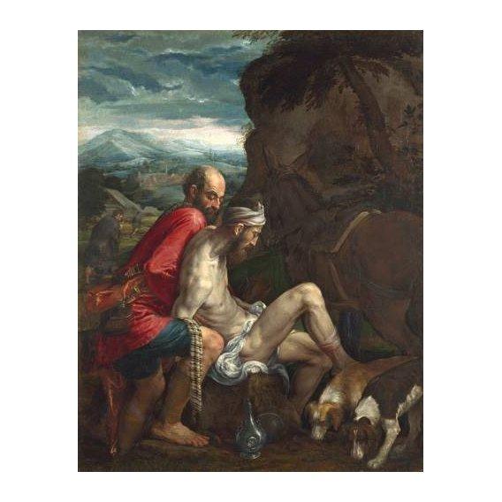 cuadros religiosos - Cuadro -El Buen Samaritano (The Good Samaritan)-
