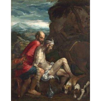 - Cuadro -El Buen Samaritano (The Good Samaritan)- - Bassano, Jacopo da Ponte