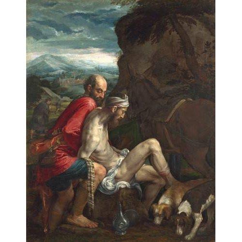 Cuadro -El Buen Samaritano (The Good Samaritan)-