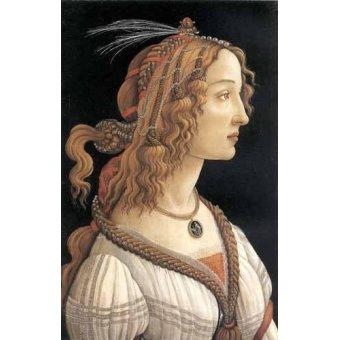 Cuadro -Retrato femenino-
