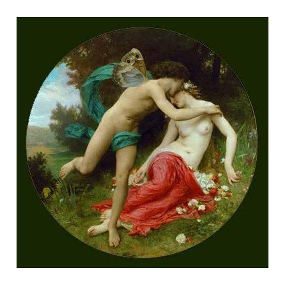 cuadros de retrato - Cuadro -Flora and Zephir-