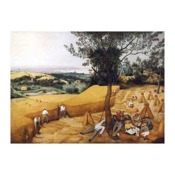 cuadros de paisajes - Cuadro -The Harvesters-
