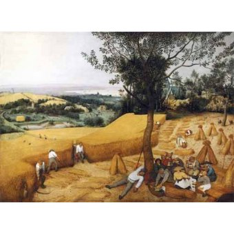 - Cuadro -The Harvesters- - Bruegel