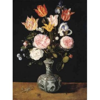 - Cuadro -Florero- - Bruegel