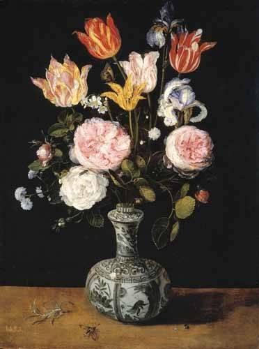 cuadros-de-flores - Cuadro -Florero- - Bruegel