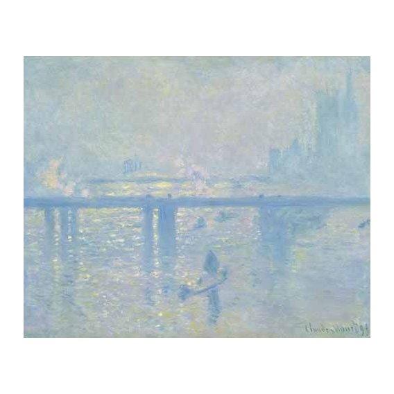 cuadros de paisajes - Cuadro -Charing Cross Bridge, 1899-