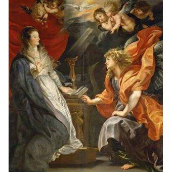 - Cuadro -Anunciacion, 1609- - Rubens, Peter Paulus