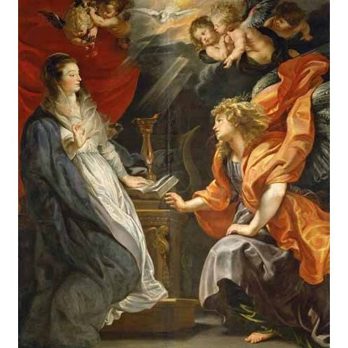 cuadros religiosos - Cuadro -Anunciacion, 1609-